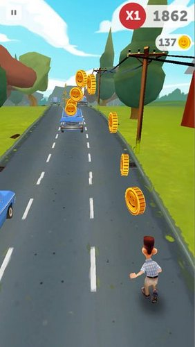 Run Forrest run screenshot 4