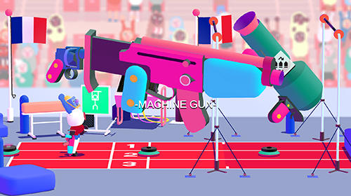Screenshots of the Run gun sports for Android tablet, phone.