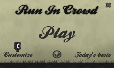 Run In Crowd poster