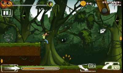 Screenshots of the Run Like Hell! for Android tablet, phone.