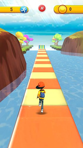 Run run 3D screenshot 1