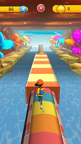 Run run 3D screenshot 2