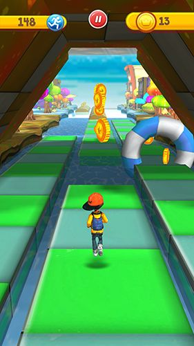Screenshots von Run run 3D für Android-Tablet, Smartphone.
