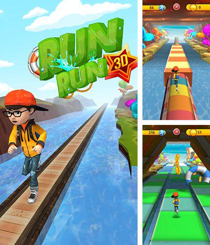 In addition to the game Zombie Run HD for Android phones and tablets, you can also download Run run 3D for free.