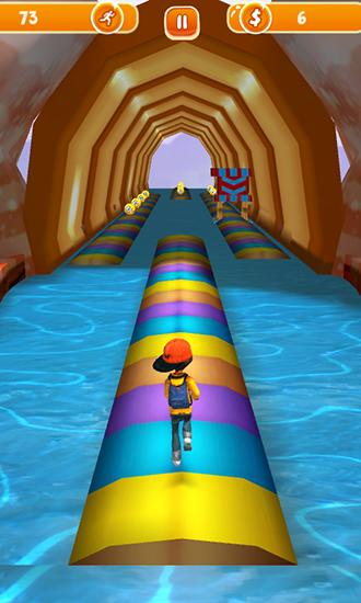 Screenshots von Run run 3D 2 für Android-Tablet, Smartphone.