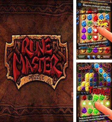 In addition to the game JungleBell for Android phones and tablets, you can also download RuneMasterPuzzle for free.