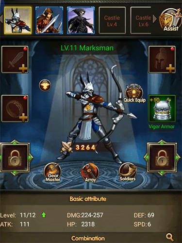 Get full version of Android apk app Runes of magic for tablet and phone.