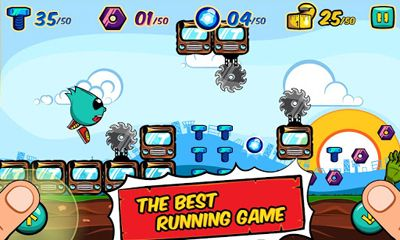 Download Running Rico Alien vs Zombies Android free game.