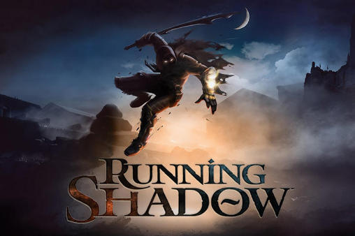 Running shadow poster
