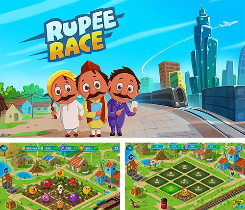 Rupee race: Idle simulation