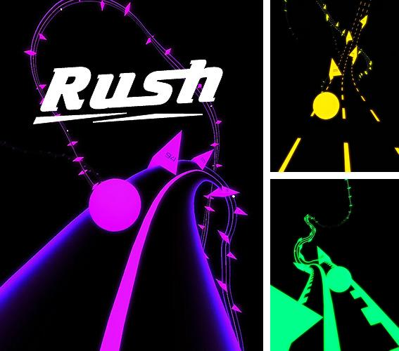 In addition to the game Rider for Android phones and tablets, you can also download Rush for free.