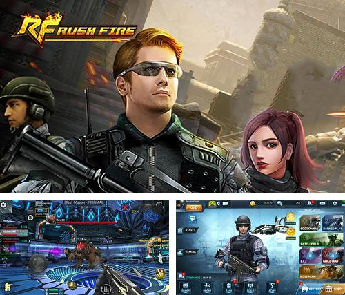 Rush fire: Free online shooting game