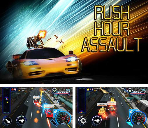 In addition to the game Moto cop dash for Android phones and tablets, you can also download Rush hour assault for free.