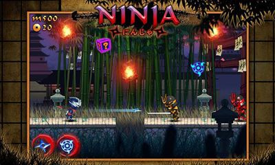 Screenshots do Rush Ninja - Ninja Games - Perigoso para tablet e celular Android.