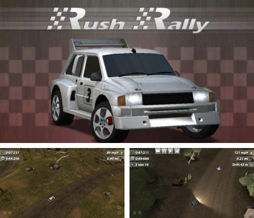 In addition to the game WRC Shakedown Edition for Android phones and tablets, you can also download Rush rally for free.