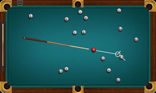 Screenshots von Russian billiards free für Android-Tablet, Smartphone.