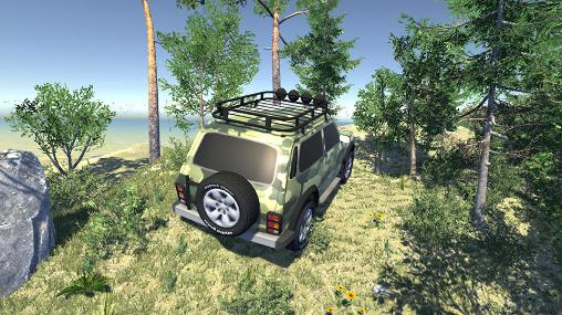 Kostenloses Android-Game Russiscche Autos: Off-Road 4x4. Vollversion der Android-apk-App Hirschjäger: Die Russian cars: Off-road 4x4 für Tablets und Telefone.