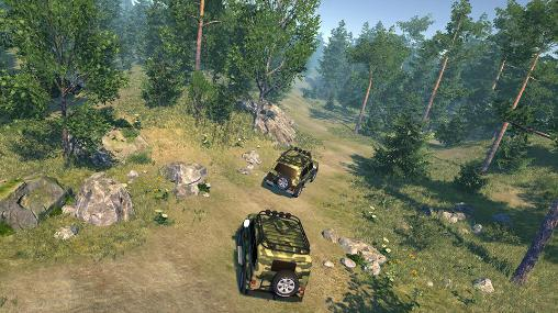 Russian cars: Off-road 4x4 für Android spielen. Spiel Russiscche Autos: Off-Road 4x4 kostenloser Download.