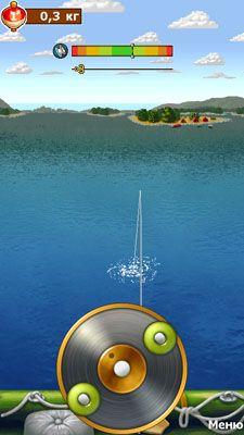 Screenshots of the Russian Fishing for Android tablet, phone.