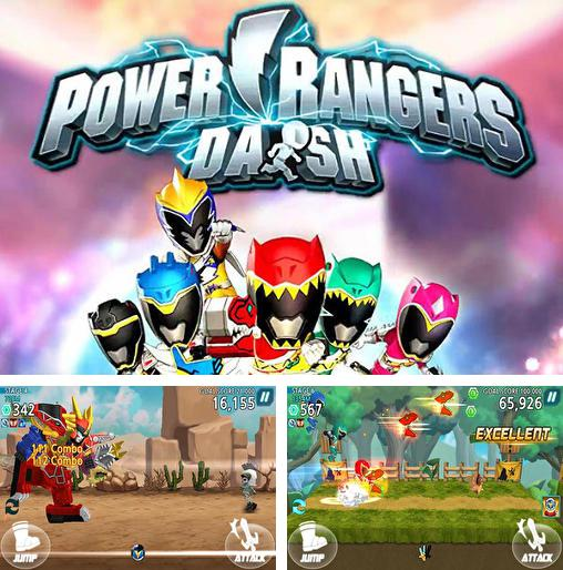 Saban's power rangers: Dash