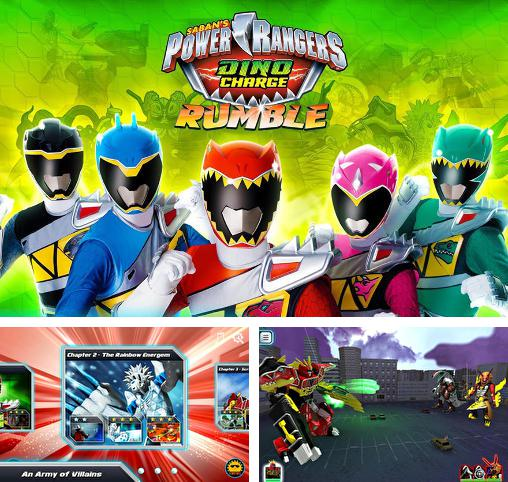 In addition to the game TMNT:  Rooftop run for Android phones and tablets, you can also download Saban's power rangers: Dino charge. Rumble for free.