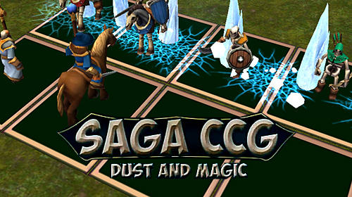 Saga CCG: Dust and magic обложка