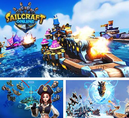 In addition to the game Gladiator heroes for Android phones and tablets, you can also download Sailсraft online: Battleships in 3D for free.