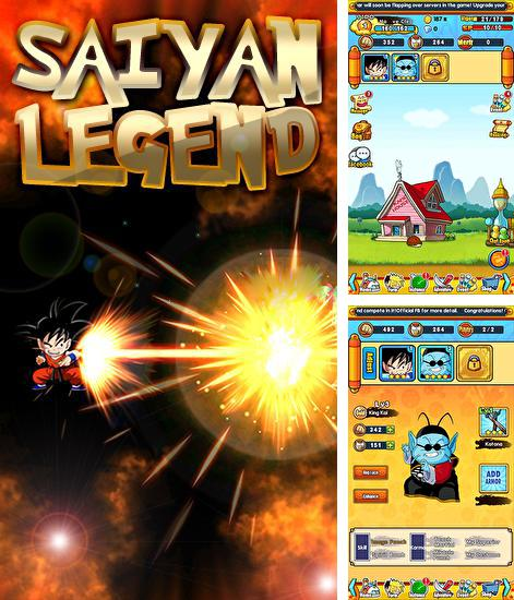 In addition to the game Dragon ball Z: Dokkan battle for Android phones and tablets, you can also download Saiyan legend for free.