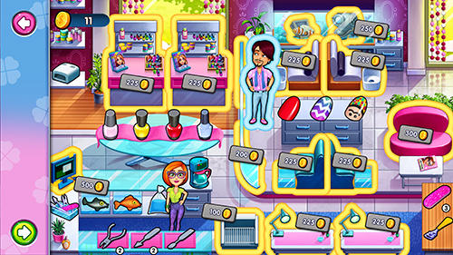 Sally's salon: Kiss and make-up für Android spielen. Spiel Sallys Salon: Küsse und Make-Up kostenloser Download.