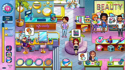 Screenshots do Sally's salon: Kiss and make-up - Perigoso para tablet e celular Android.