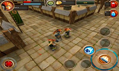 Screenshots von Samurai Tiger für Android-Tablet, Smartphone.