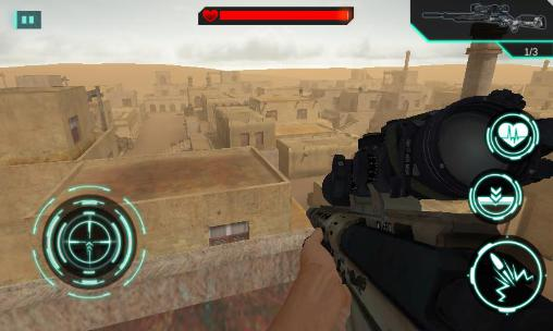 Download Sandstorm sniper: Hero kill strike Android free game.