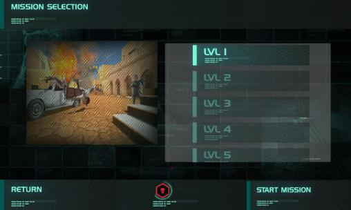 Screenshots of the Sandstorm sniper: Hero kill strike for Android tablet, phone.