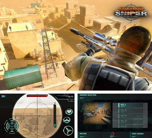 In addition to the game SniperTarget in sight for Android phones and tablets, you can also download Sandstorm sniper: Hero kill strike for free.