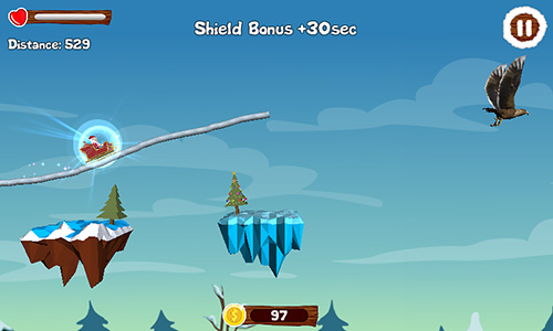 Santa draw ride: Christmas adventure картинка из игры 3