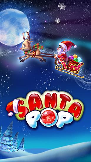 Santa pop: Bubble shooter poster