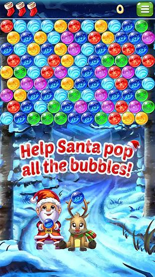 Santa pop: Bubble shooter screenshot 1