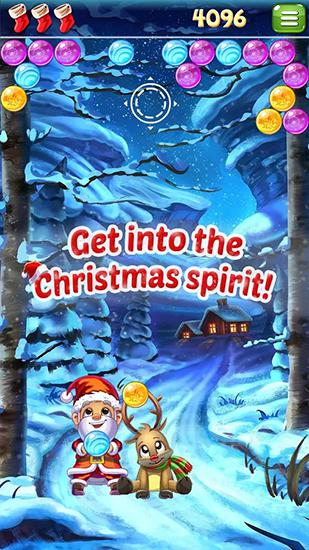 Santa pop: Bubble shooter screenshot 2