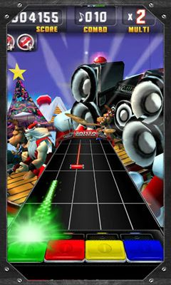 Download Santa Rockstar Android free game.