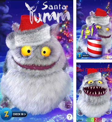 In addition to the game Yumm Halloween for Android phones and tablets, you can also download Santa Yumm for free.