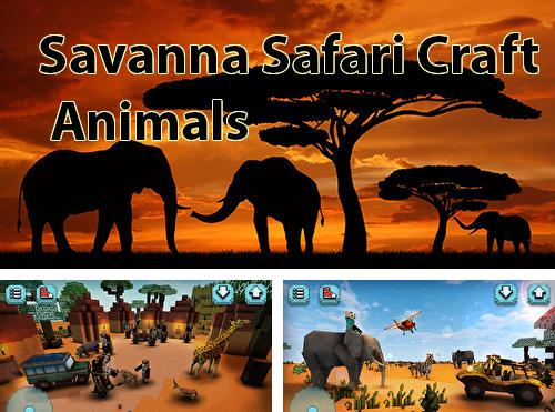 Savanna safari craft: Animals