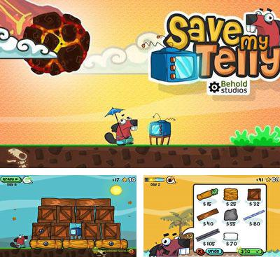 In addition to the game Ceramic Destroyer for Android phones and tablets, you can also download Save My Telly for free.