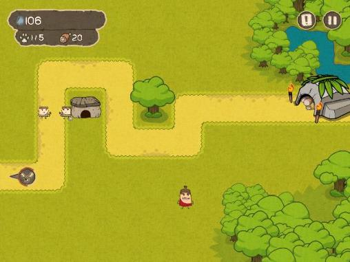 Save the cave: Tower defense screenshot 1