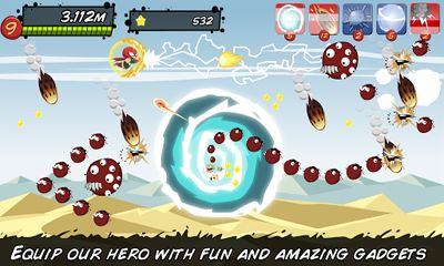 Screenshots of the Save The Earth Monster Alien Shooter for Android tablet, phone.