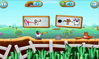 Juega a Saving Private Sheep 2 para Android. Descarga gratuita del juego Salvando a la oveja privada 2.