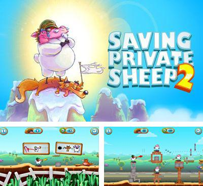 Zusätzlich zum Spiel Escape Cyrocon für Android-Telefone und Tablets können Sie auch kostenlos Saving Private Sheep 2, Saving Private Sheep 2 herunterladen.