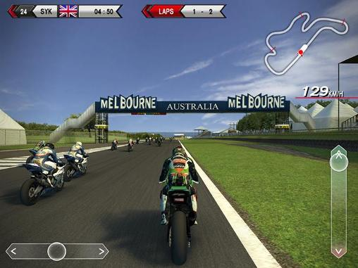 SBK14: Official mobile game screenshot 1