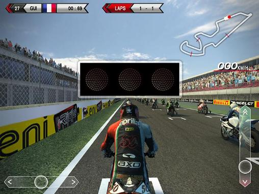 SBK14: Official mobile game screenshot 3