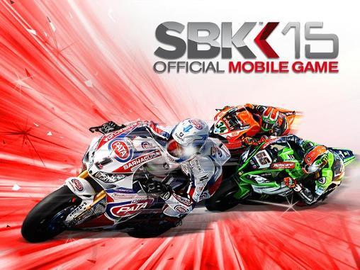 SBK15: Official mobile game poster