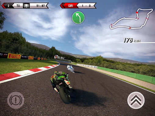 Скріншот гри SBK15: Official mobile game на Андроїд планшет і телефон.